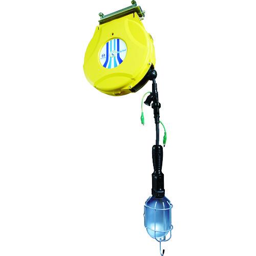 日平 リール ランプリール 10M 125V/10A(コード引き出し時) HEP-610HL-Y 【DIY 工具 TRUSCO トラスコ 】【おしゃれ おすすめ】[CB99]