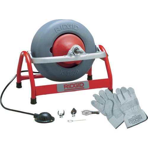 Ridge Tool Company RIDGID K-3800 W/C-46 ドレンクリーナー 53127 【DIY 工具 TRUSCO トラスコ 】【おしゃれ おすすめ】[CB99]
