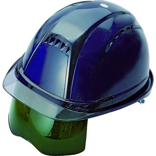 トーヨーセフティ ヘルメット ヴェンティープラス シールド面付 紺 NO.391F-S-G-NY 【DIY 工具 TRUSCO トラスコ 】【おしゃれ おすすめ】[CB99]