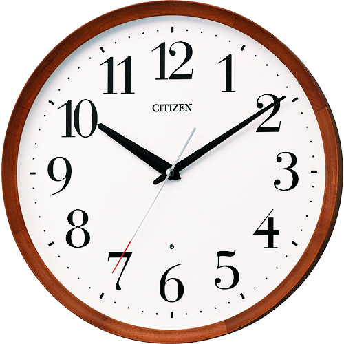 リズム時計工業(株) シチズン 木枠電波掛時計 8MY535-006 【DIY 工具 TRUSCO トラスコ 】【おしゃれ おすすめ】[CB99]