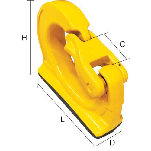 YOKE 油圧ショベル用バケットフック 8-083-01 【DIY 工具 TRUSCO トラスコ 】【おしゃれ おすすめ】[CB99]