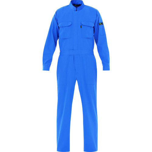 ミドリ安全 ベルデクセル T/C帯電防止ツナギ服 ブルー 3L VE_413-3L 【DIY 工具 TRUSCO トラスコ 】【おしゃれ おすすめ】[CB99]