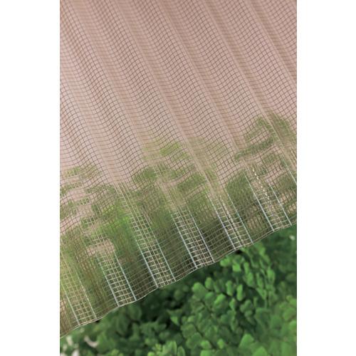 タキロン ガラスネット強化波板 32波 8尺 800ブラウンスモーク 212885 [10枚入] 【DIY 工具 TRUSCO トラスコ 】【おしゃれ おすすめ】[CB99]