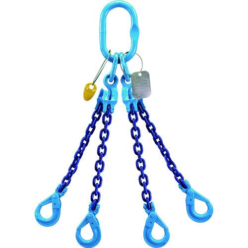 YOKE GrabEXRFID付きチェーンスリング(4本吊り) XQB-08 【DIY 工具 TRUSCO トラスコ 】【おしゃれ おすすめ】[CB99]