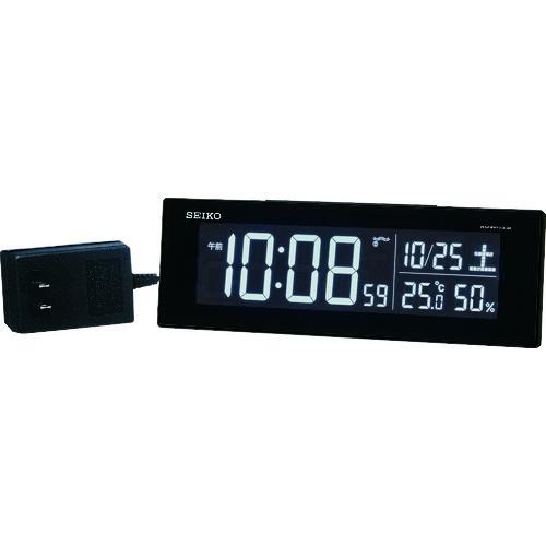 セイコークロック(株) SEIKO シリーズC3交流式デジタル電波置時計 DL305K 【DIY 工具 TRUSCO トラスコ 】【おしゃれ おすすめ】[CB99]