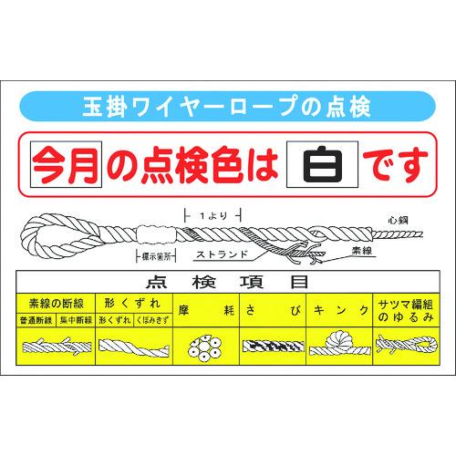 グリーンクロス 玉掛けワイヤーロープの点検 1145330801 【DIY 工具 TRUSCO トラスコ 】【おしゃれ おすすめ】[CB99]