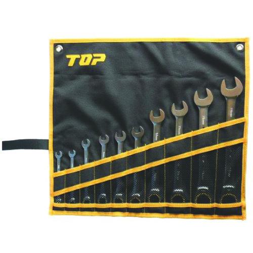 トップ工業(株) TOP ラチェットコンビセット RCW-10000S 【DIY 工具 TRUSCO トラスコ 】【おしゃれ おすすめ】[CB99]