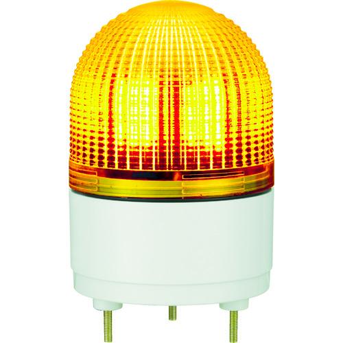 パトライト KHE型 LED表示灯 Φ100 点滅・流動・ストロボ発光 黄 KHE-24-Y 【DIY 工具 TRUSCO トラスコ 】【おしゃれ おすすめ】[CB99]