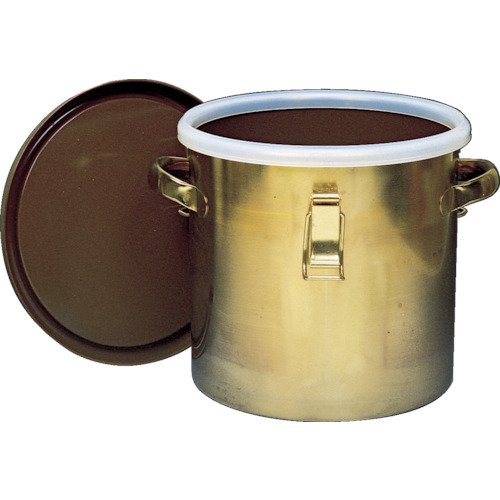 フロンケミカル フッ素樹脂コーティング密閉タンク(金具付) 膜厚約50μ 7L NR0378-001 【DIY 工具 TRUSCO トラスコ 】【おしゃれ おすすめ】[CB99]