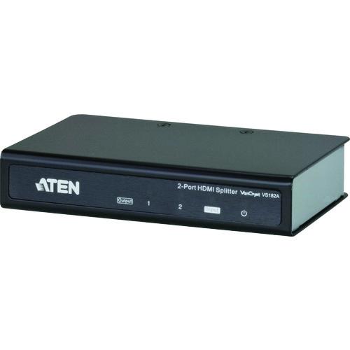 ATEN ビデオ分配器 HDMI / 1入力 / 2出力 / 4K対応 VS182A 【DIY 工具 TRUSCO トラスコ 】【おしゃれ おすすめ】[CB99]