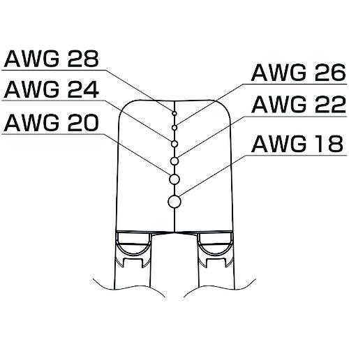 白光 ブレード 18-28AWG G4-1602 【DIY 工具 TRUSCO トラスコ 】【おしゃれ おすすめ】[CB99]