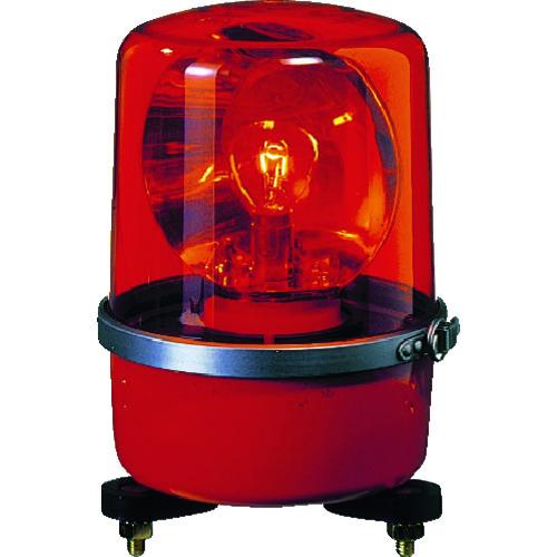 パトライト SKP-A型 中型回転灯 Φ138 色:赤 SKP-120A-R 【DIY 工具 TRUSCO トラスコ 】【おしゃれ おすすめ】[CB99]