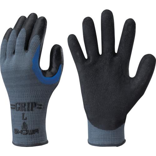 高品質新品 保護具 絶品 作業手袋 すべり止め背抜き手袋の関連商品 ショーワ ゴム背抜き手袋 No330股付グリップ 3双パック ブラック Lサイズ NO330-L3P 工具 おしゃれ トラスコ CB99 DIY TRUSCO おすすめ