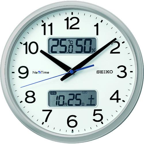 """セイコークロック(株) SEIKO 電波掛時計 """"セイコーネクスタイム ZS251S"""" (ハイブリッド電波時計) ZS251S 【DIY 工具 TRUSCO トラスコ 】【おしゃれ おすすめ】[CB99]"""