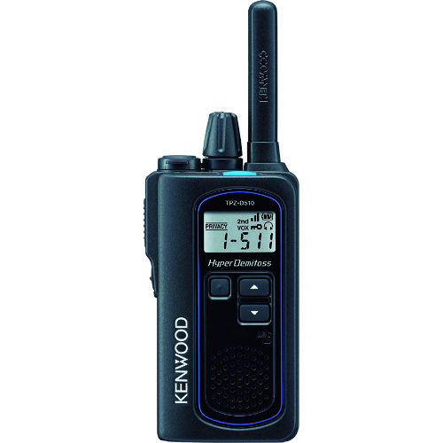 ケンウッド デジタル無線機(簡易登録申請タイプ) TPZ-D510 【DIY 工具 TRUSCO トラスコ 】【おしゃれ おすすめ】[CB99]