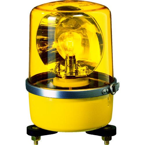 パトライト SKP-A型 中型回転灯 Φ138 色:黄 SKP-120A-Y 【DIY 工具 TRUSCO トラスコ 】【おしゃれ おすすめ】[CB99]