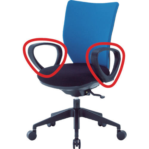 アイリスチトセ 回転椅子3DA ループ肘 3DA-M1 【DIY 工具 TRUSCO トラスコ 】【おしゃれ おすすめ】[CB99]