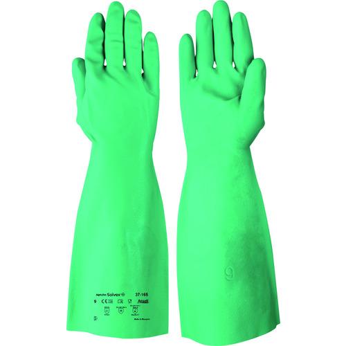 保護具 作業手袋 耐薬品 耐溶剤手袋の関連商品 使い勝手の良い アンセル 耐油 耐薬品ニトリル厚手手袋 アルファテック ソルベックス 37-165 工具 CB99 37-165-10 値引き おすすめ XLサイズ トラスコ おしゃれ DIY TRUSCO