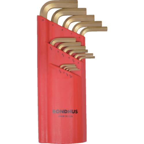 ボンダス ボールポイント・L-レンチセット ロング ゴールド セット15本組(1.27-10mm) BLX15MG 【DIY 工具 TRUSCO トラスコ 】【おしゃれ おすすめ】[CB99]