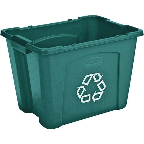 ラバーメイド リサイクルボックス グリーン 57147306 【DIY 工具 TRUSCO トラスコ 】【おしゃれ おすすめ】[CB99]