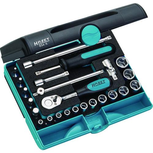 HAZET SUSソケットレンチセット(差込角6.35mm) 854X 【DIY 工具 TRUSCO トラスコ 】【おしゃれ おすすめ】[CB99]