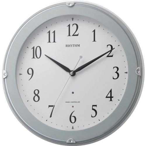 リズム時計工業(株) RHYTHM リズム 電波掛時計(夜間自動点灯ライト付) 8MYA23SR04 【DIY 工具 TRUSCO トラスコ 】【おしゃれ おすすめ】[CB99]