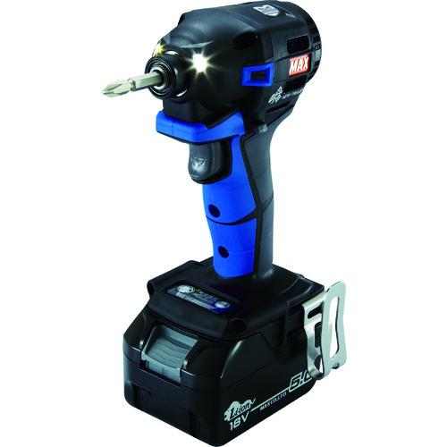 マックス(株) MAX 18V充電インパクトドライバセット(アオ)5.0Ah PJ-ID152B-B2C/1850A 【DIY 工具 TRUSCO トラスコ 】【おしゃれ おすすめ】[CB99]