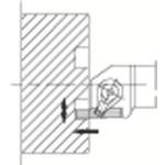 京セラ 溝入れ用ホルダ GFVR2525M-701B 【DIY 工具 TRUSCO トラスコ 】【おしゃれ おすすめ】[CB99]