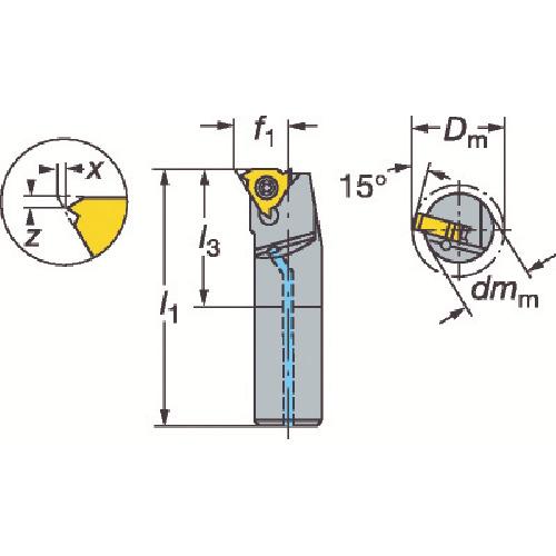 送料無料 切削工具 旋削 フライス加工工具 日本 ホルダーの関連商品 サンドビック T-Max U-ロック ねじ切りボーリングバイト 工具 おしゃれ 海外並行輸入正規品 おすすめ TRUSCO CB99 DIY L166.0KF-16-1220-11B トラスコ
