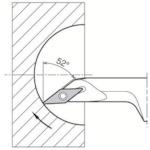 京セラ 内径加工用ホルダ S12M-SVJCR08-16A 【DIY 工具 TRUSCO トラスコ 】【おしゃれ おすすめ】[CB99]
