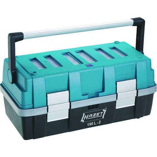 HAZET パーツケース付ツールボックス 190L-2 【DIY 工具 TRUSCO トラスコ 】【おしゃれ おすすめ】[CB99]