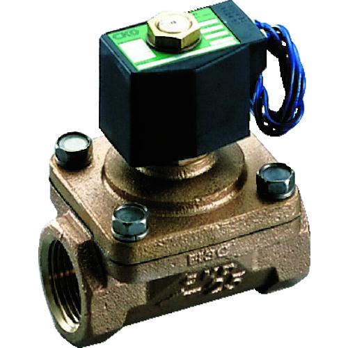 CKD パイロットキック式2ポート電磁弁(マルチレックスバルブ)100[[MM2]]/有効断面積 APK11-15A-02C-AC100V 【DIY 工具 TRUSCO トラスコ 】【おしゃれ おすすめ】[CB99]