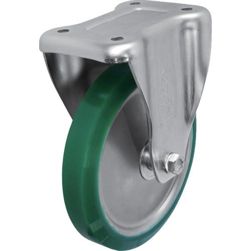 シシク スタンダードプレスキャスター ウレタン車輪 固定 250径 UWK-250 【DIY 工具 TRUSCO トラスコ 】【おしゃれ おすすめ】[CB99]