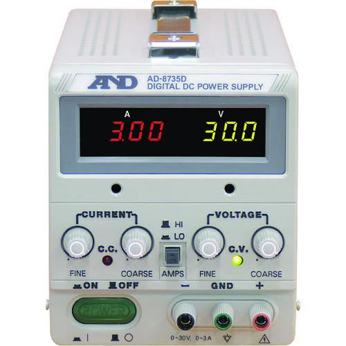 (株)エー・アンド・デイ A&D 直流安定化電源トラッキング動作可能LEDデジタル表示 AD8735D 【DIY 工具 TRUSCO トラスコ 】【おしゃれ おすすめ】[CB99]