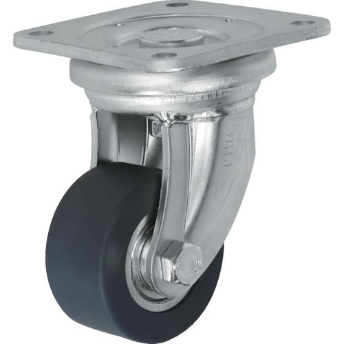 シシク 低床超重荷重用キャスター 80径 ユニクロメッキ MCMO車輪 DHJ-80U-MCMO 【DIY 工具 TRUSCO トラスコ 】【おしゃれ おすすめ】[CB99]