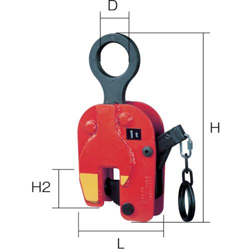 象印 立吊クランプ1Ton VA-01000 【DIY 工具 TRUSCO トラスコ 】【おしゃれ おすすめ】[CB99]