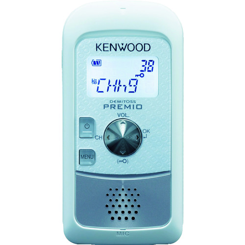 ケンウッド 特定小電力トランシーバー UBZ-S20WH 【DIY 工具 TRUSCO トラスコ 】【おしゃれ おすすめ】[CB99]