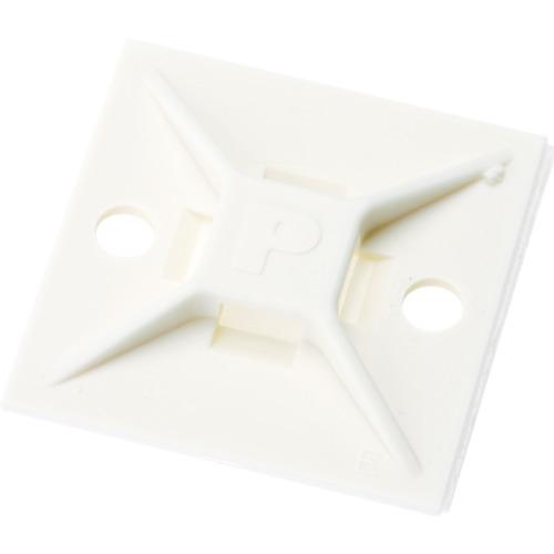 パンドウイット マウントベース アクリル系粘着テープ付き 白 (500個入) ABM112-AT-D 【DIY 工具 TRUSCO トラスコ 】【おしゃれ おすすめ】[CB99]