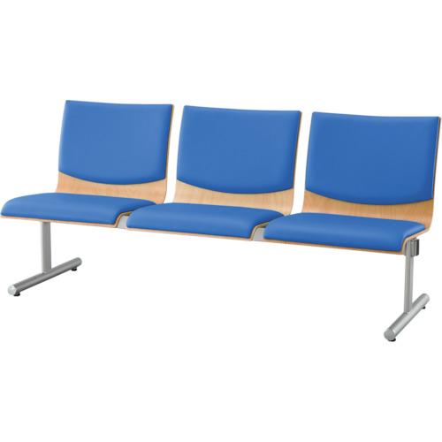 アイリスチトセ ウッドレスト 3人用 ブルー CWRB-SV3-BL 【DIY 工具 TRUSCO トラスコ 】【おしゃれ おすすめ】[CB99]