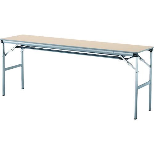 アイリスチトセ 折畳みテーブルLOT 棚付き1845Tサイズ ナチュラル LOT-1845T-NA 【DIY 工具 TRUSCO トラスコ 】【おしゃれ おすすめ】[CB99]