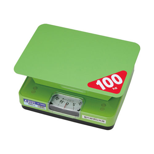 シンワ測定 簡易自動はかり ほうさく 100kg 取引証明以外用 70008 【作業用 デジタル スケール 業務用 計量 はかり キッチンスケール】【おしゃれ おすすめ】[CB99]