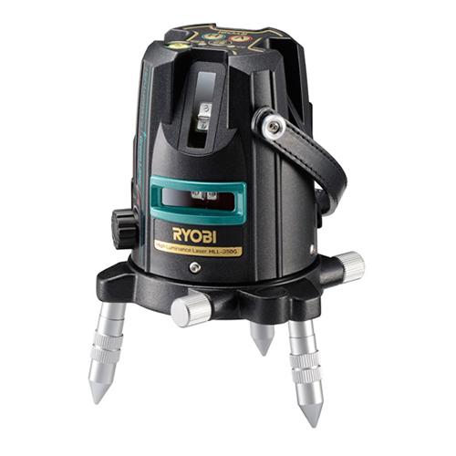 リョービ(RYOBI) グリーンレーザー HLL-350G 4370479 【レーザー墨出し器 墨出し器 レーザーレベル 水平器 フルライン測定器 すみだし 地墨ポイント 測量用品 傾斜ライン機能】【おしゃれ おすすめ】[CB99]
