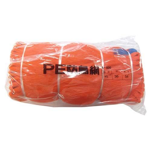 東京戸張 PE防鳥網 45mm角 36.0m×54.0m [オレンジ色/400D] A600 500018 [カラー:オレンジ]