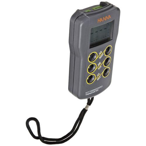 ハンナ ポータブル温度計/サーモカップル(K、J、Tタイプ) HI93542 【ハンナ HANNA 計測機器 測定器 電極 用 用品】【おしゃれ おすすめ】 [CB99]
