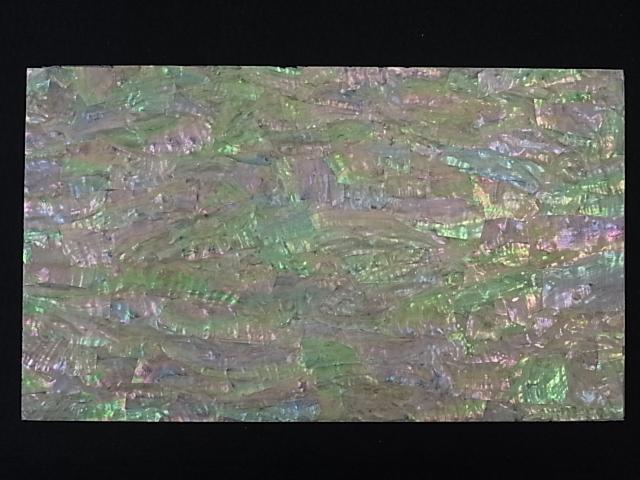 ギフ_包装 毎日がバーゲンセール 貝殻とヒトデの専門店です 貝殻シート#12 ホワイトアバロン シートサイズ14cm×24cm 厚さ0.18mm-0.2mm
