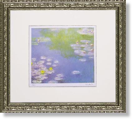 【SALE】 絵画 インテリア モネ・睡蓮(絵画・版画), 真珠の卸屋さん 7e3e7130