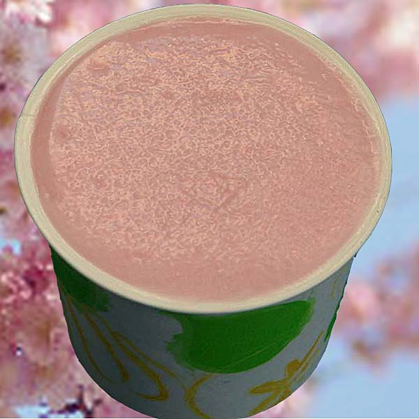 カップアイス アイスクリーム ジェラート さくらのアイスクリーム  春の限定商品 桜の花びらのスイーツ 魁ジェラートアイスクリーム