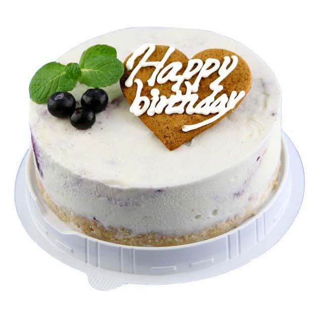 アイスケーキ 誕生日 レアチーズ バースデイ アイス ギフト アイスクリーム ホールケーキ ハッピー お誕生会 誕生日プレゼント カード付き アイスクリーム 魁ジェラート