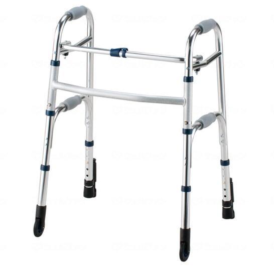 【非課税】室内用歩行器 セーフティーアームウォーカーCタイプ スタンダード(品番:SAWCR)イーストアイ 折り畳み可 シルバー【送料無料】