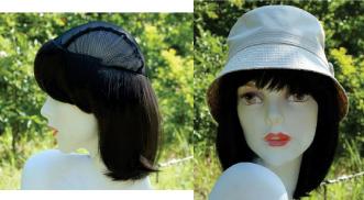 帽子ウィッグ ミディアムタイプ【医療用カツラ・医療用ウィッグ・医療向けウィッグ・髪の毛・付け毛・院内帽子】